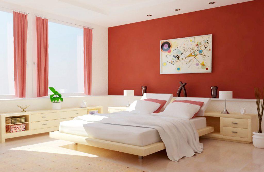 Thiết kế phòng ngủ dành cho người mệnh Hỏa