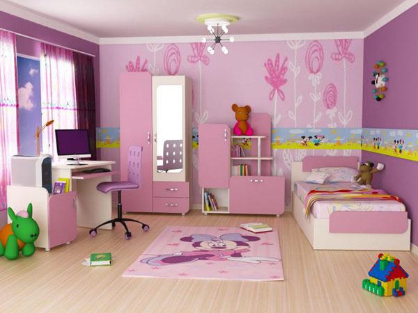 Thiết kế phòng ngủ dành cho các bé giá đáng yêu